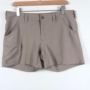North Face Womens Size 10 Almatta Shorts Tan Brown